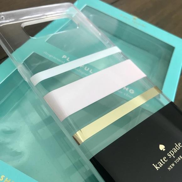 big sale a4b19 55fee Kate Spade Samsung Galaxy Note 8 phone case NWT